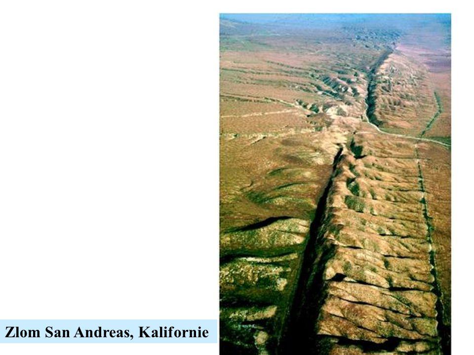 Zlom San Andreas, Kalifornie