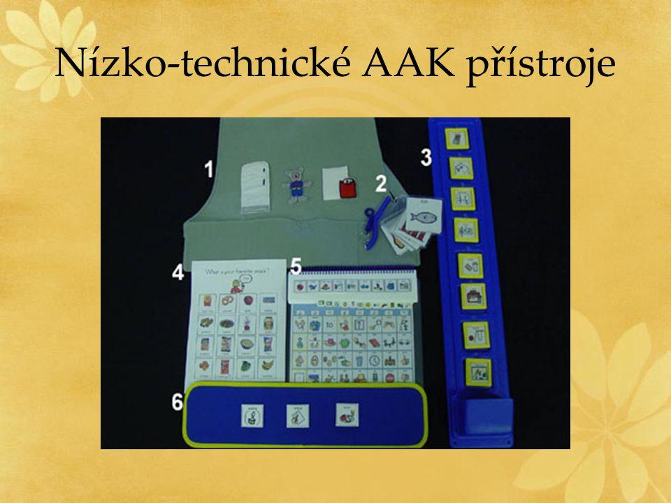 Nízko-technické AAK přístroje