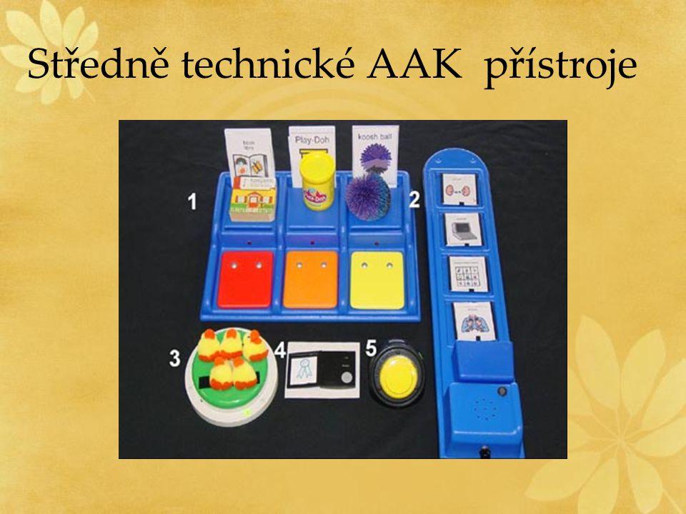 Středně technické AAK přístroje
