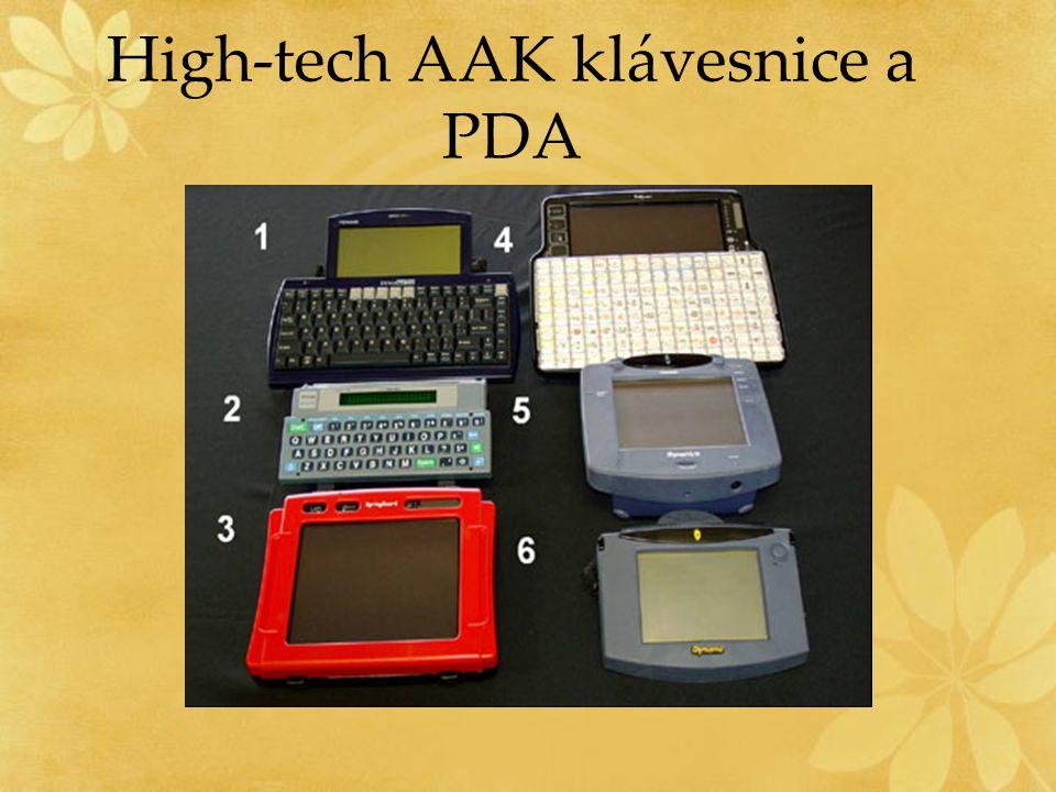 High-tech AAK klávesnice a PDA