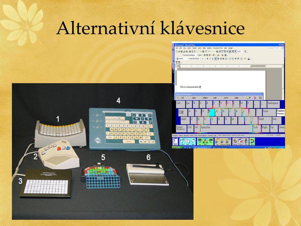 Alternativní klávesnice