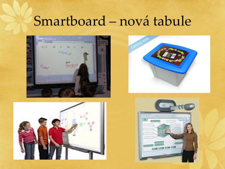 Smartboard – nová tabule