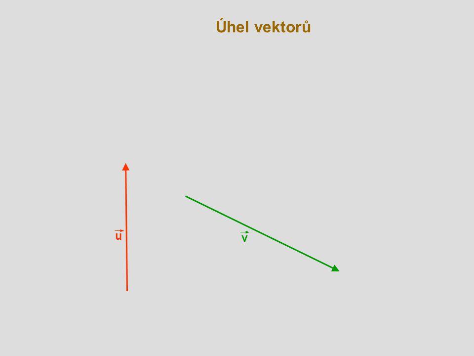 Kolmé vektory v C A u  B