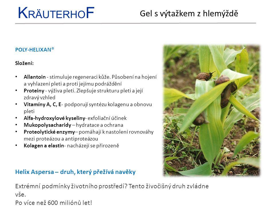 K RÄUTERHO F KYSELINA HYALURONOVÁ + FYTOKOMPLEX Kyselina hyaluronová - krása a zdraví.