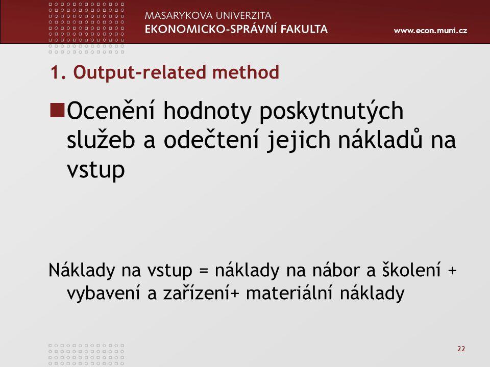 www.econ.muni.cz 22 1.