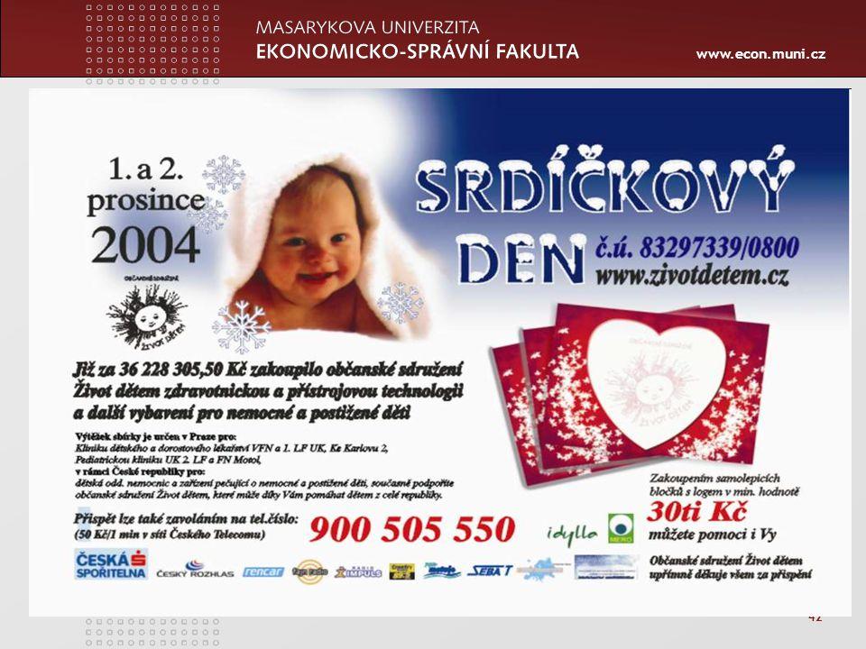 www.econ.muni.cz 42