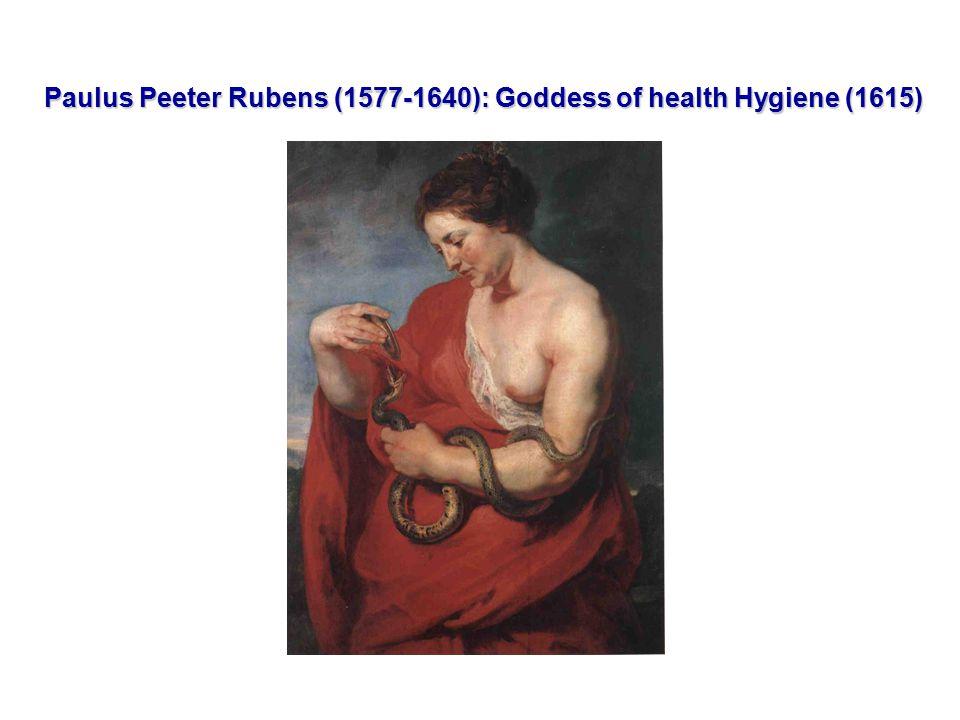 Paulus Peeter Rubens (1577-1640): Goddess of health Hygiene (1615) Paulus Peeter Rubens (1577-1640): Goddess of health Hygiene (1615)