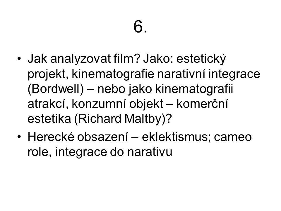 6. Jak analyzovat film.