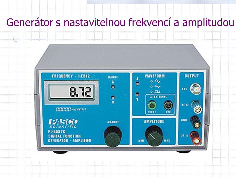 Generátor s nastavitelnou frekvencí a amplitudou