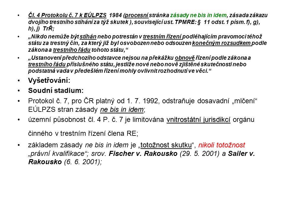 Čl.4 Protokolu č.