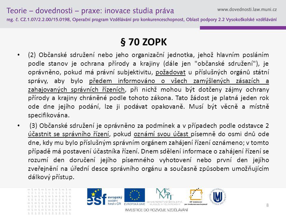 Přístup k právní ochraně Čl.
