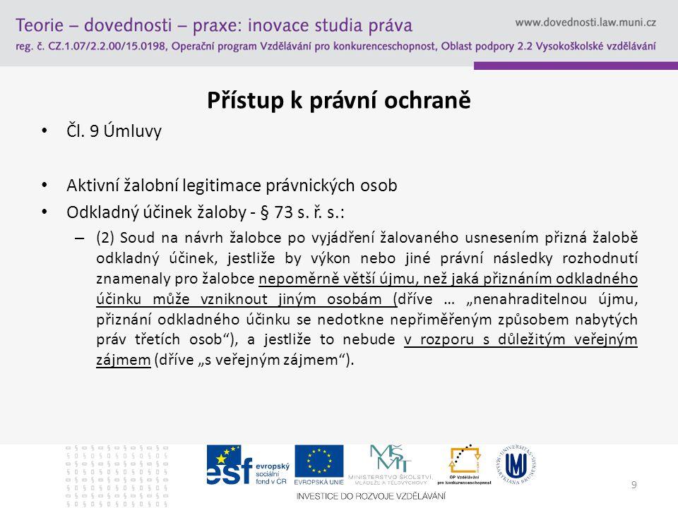 Communication Kontrolní mechanismus plnění Úmluvy – Čl.