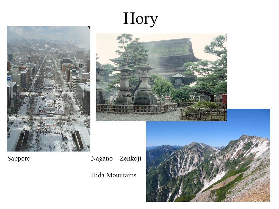 Hory SapporoNagano – Zenkoji Hida Mountains