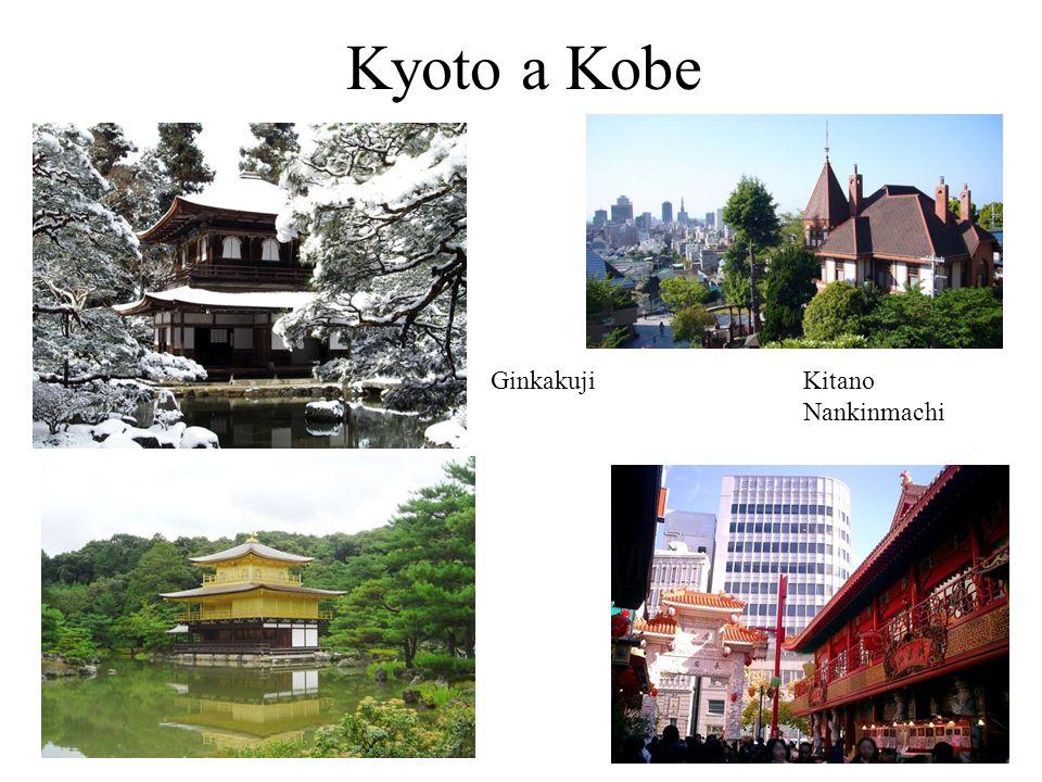 Kyoto a Kobe GinkakujiKitano Nankinmachi