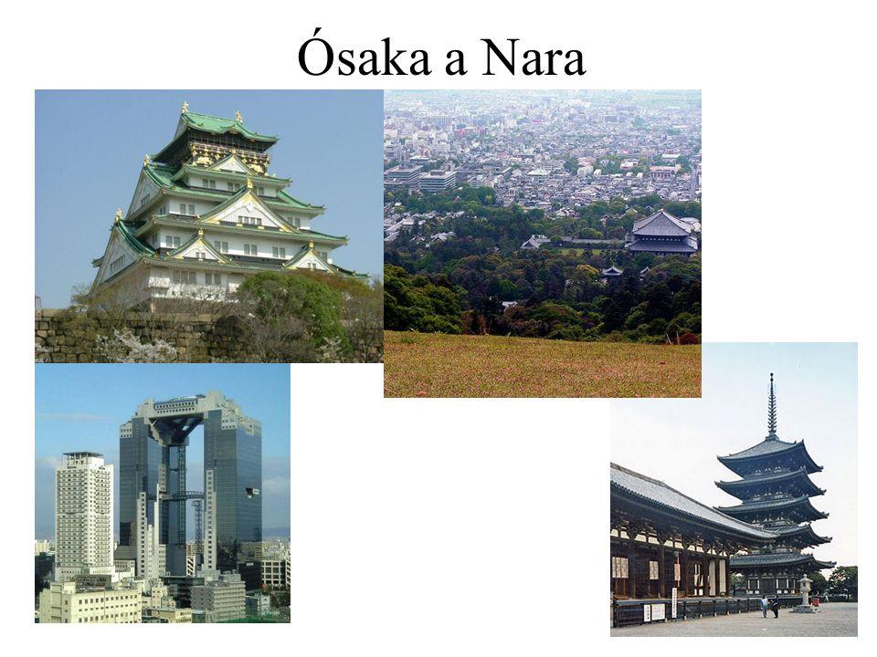 Ósaka a Nara