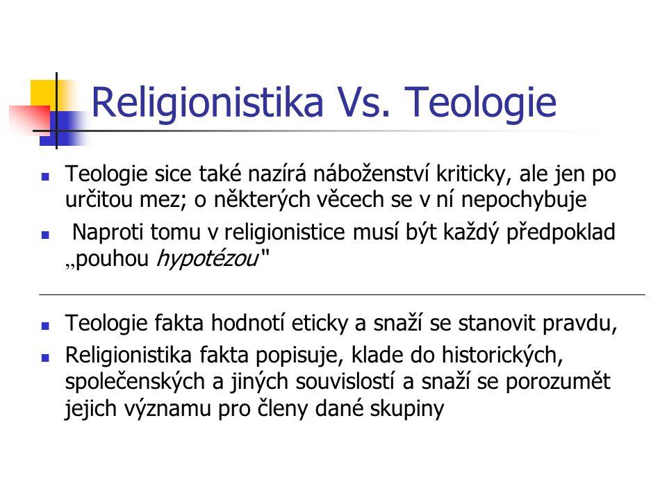Religionistika Vs.