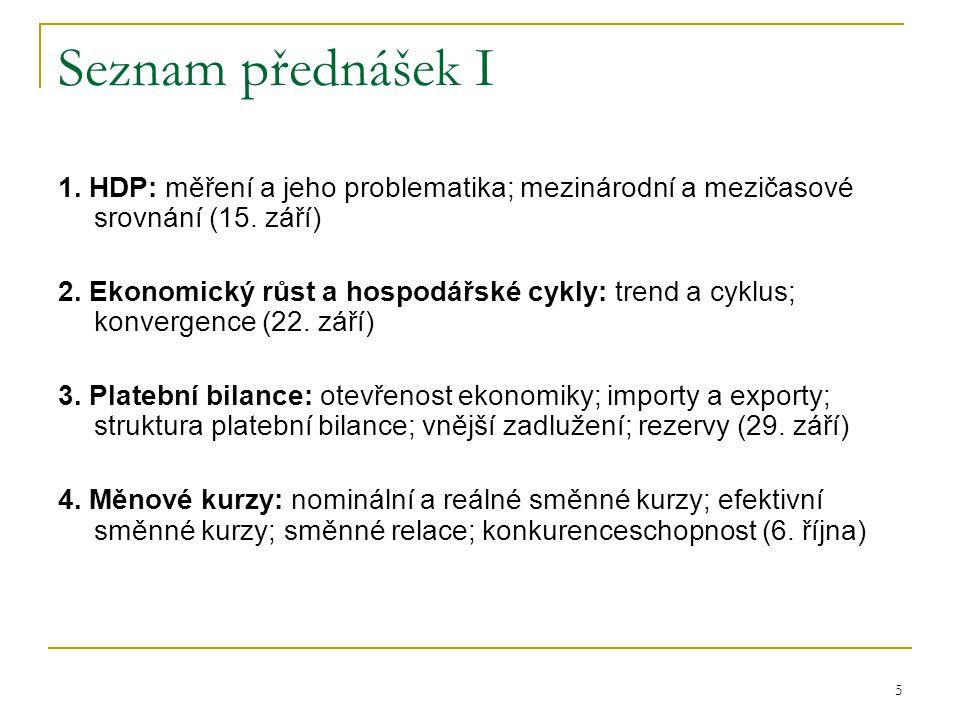 6 Plán přednášek II 5.