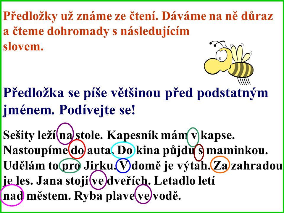 PŘEDLOŽKY PŘED NÁMI S VČELKOU MIJOU Dostupné z Metodického portálu www.rvp.cz, ISSN: 1802-4785, financovaného z ESF a státního rozpočtu ČR. Provozován