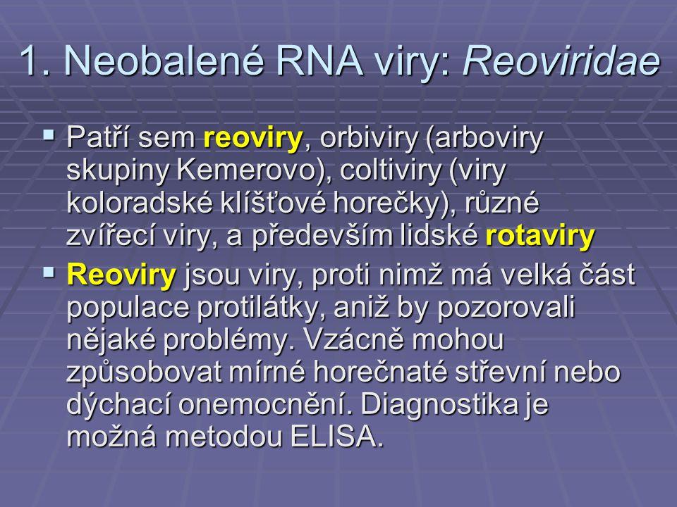 Rotaviry  Rotaviry dostaly název od svého kulatého tvaru.