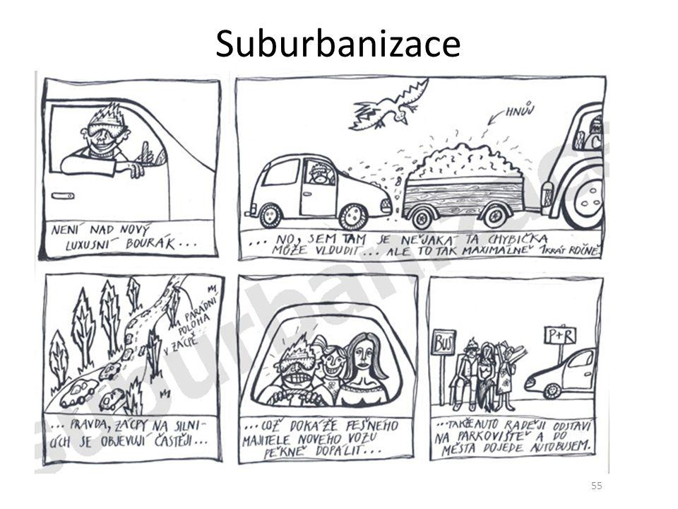 Suburbanizace 55