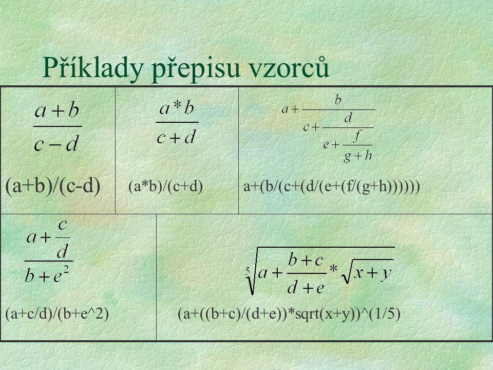 Algoritmus §přesný popis postupu, jak dosáhnout stanoveného cíle §Vlastnosti algorimu l rezultativnost - od libovolných vstupních hodnot musíme dospět k výsledkům l determinovanost - v každé fázi zpracování musí být jasný další postup l hromadnost - algoritmus je použitelný pro celou skupinu úloh téhož typu