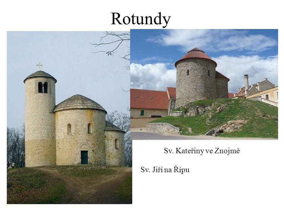 Rotundy Sv. Kateřiny ve Znojmě Sv. Jiří na Řípu
