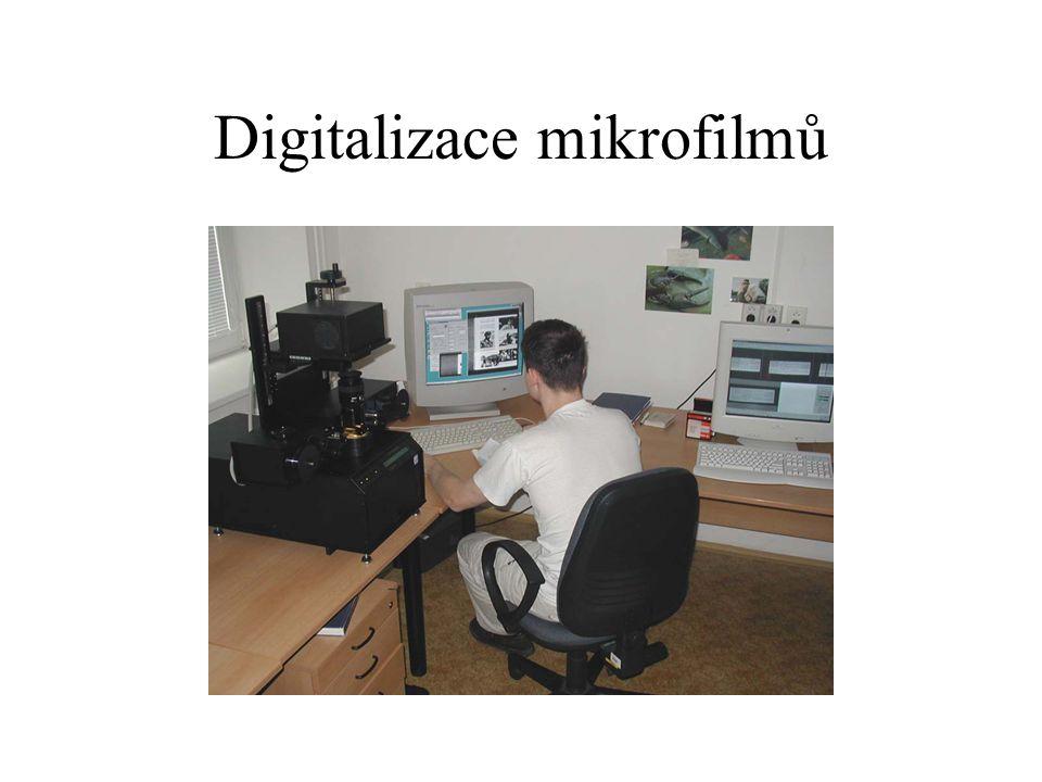 Digitalizace mikrofilmů