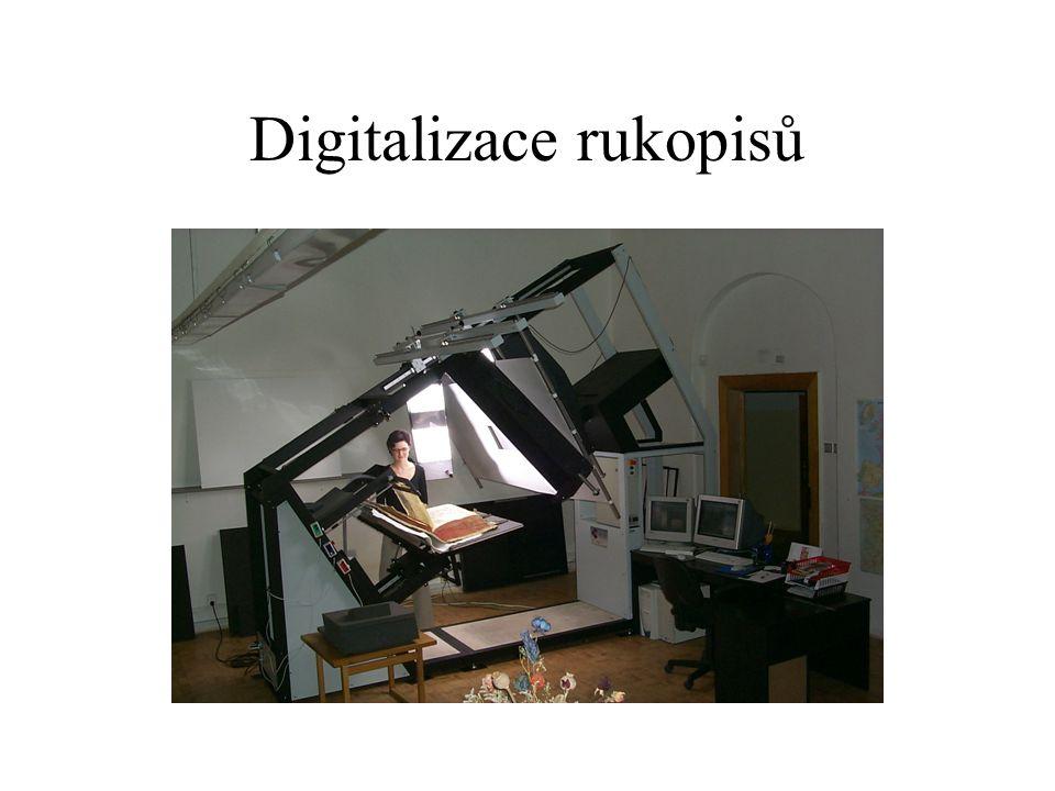 Digitalizace rukopisů
