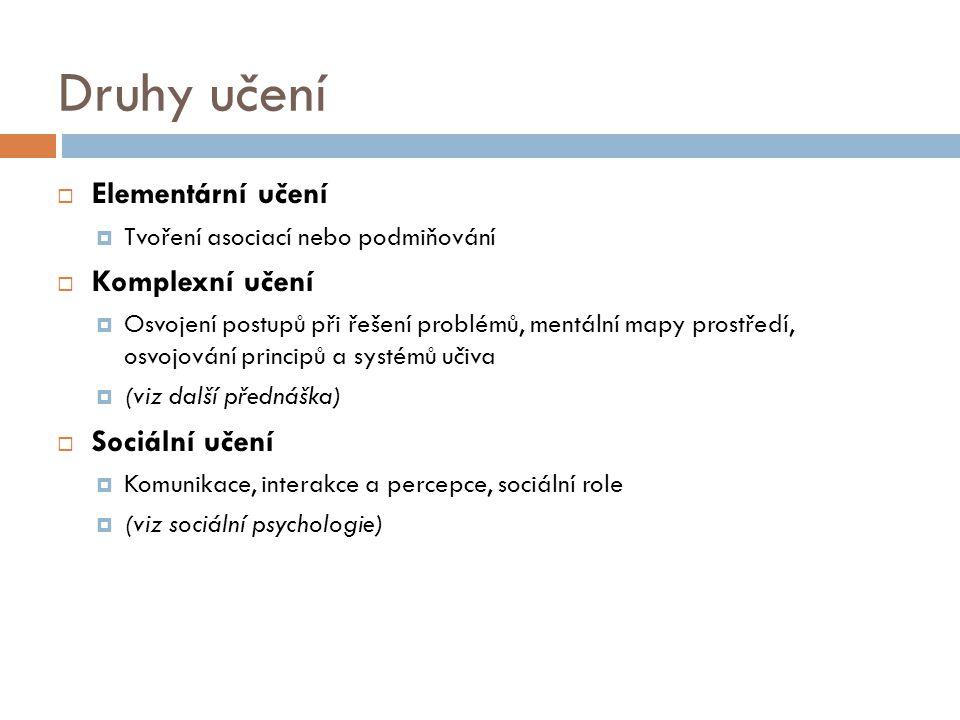 Celostní (gestalt) psychologie  Zpočátku více zaměřena na vmímání  (celek je víc, než souhrn částí...;)  W.