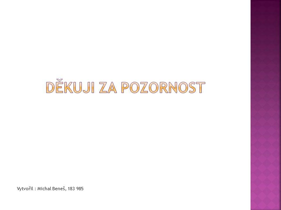 Vytvořil : Michal Beneš, 183 985