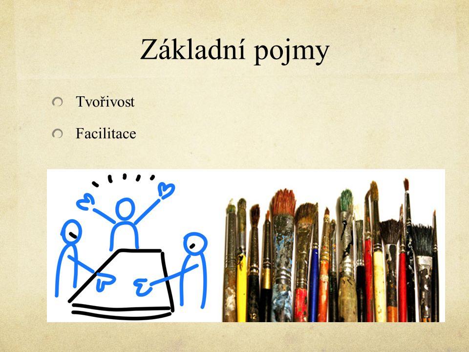 Základní pojmy Tvořivost Facilitace