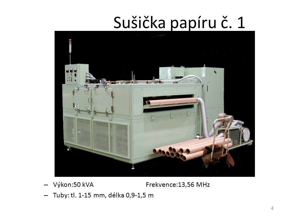 5 Sušička papíru č.2 FUJI Model FDA-702VDG Výkon:7 kW Frekvence:27.12MHz Formát papíru:1,000m x 1,800m