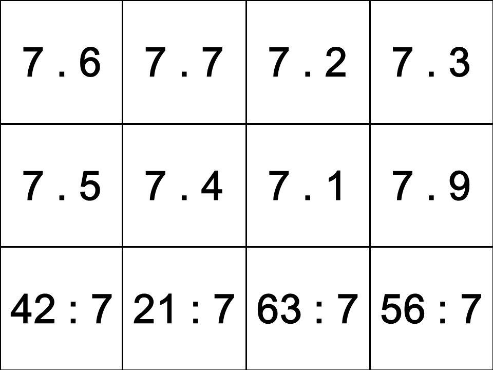 7. 57. 47. 17. 9 42 : 721 : 763 : 756 : 7 7. 67. 77. 27. 3