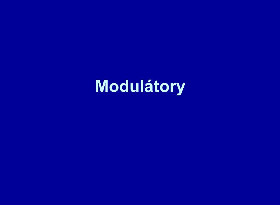 Amplitudový modulátor Pro bezdrátový přenos informace na větší vzdálenosti je nutné přenášenou nízkofrekvenční informaci vtisknout (namodulovat) na nosnou vysokofrekvenční elektromagnetickou vlnu.