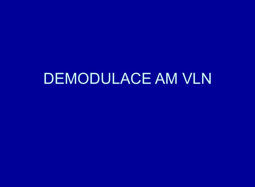 DEMODULACE AM VLN