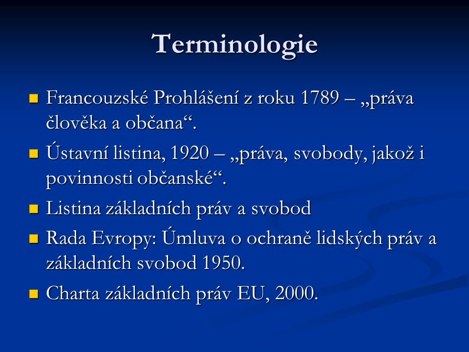 """Terminologie Francouzské Prohlášení z roku 1789 – """"práva člověka a občana"""". Francouzské Prohlášení z roku 1789 – """"práva člověka a občana"""". Ústavní lis"""