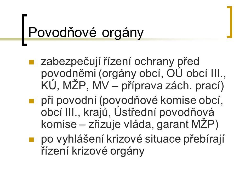 Krizové řízení Definice dle zákona č.240/2000 Sb.