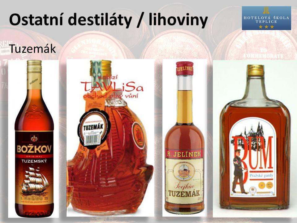 Ostatní destiláty / lihoviny Tuzemák