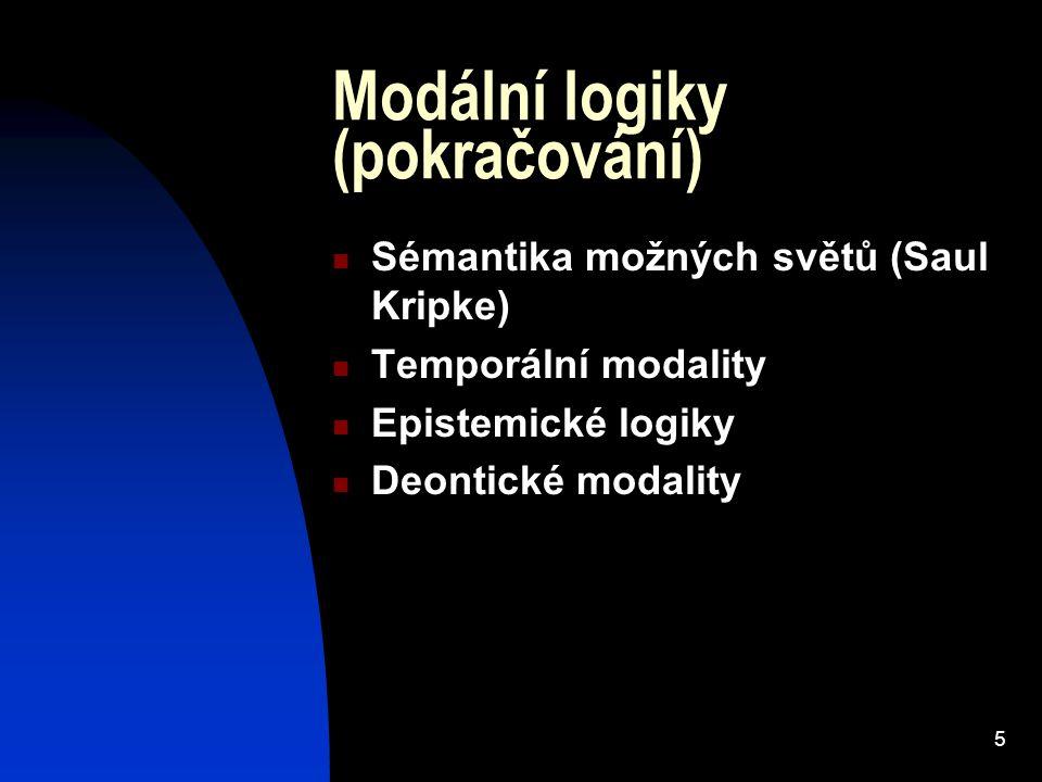 6 Logika normativních vět, deontická logika-základní pojmy Logika normativních vět vs.