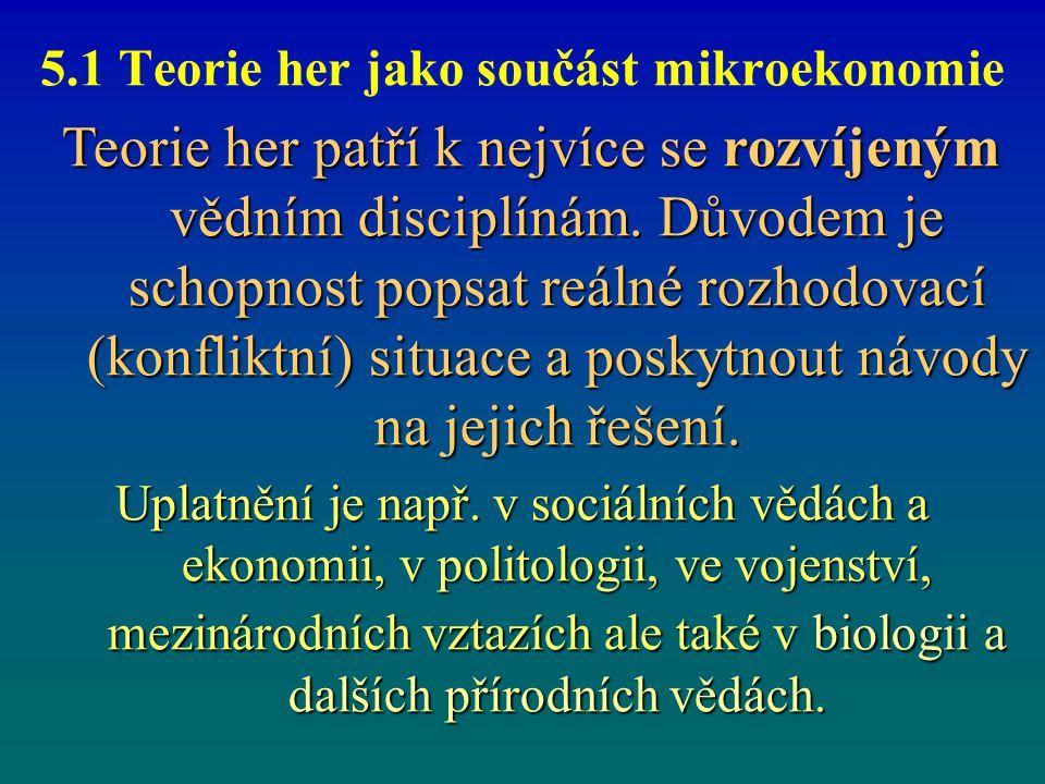 5.1 Teorie her jako součást mikroekonomie Gerolamo Cardano, *1501 †1574 italský matem., filozof, astronom a astrolog.