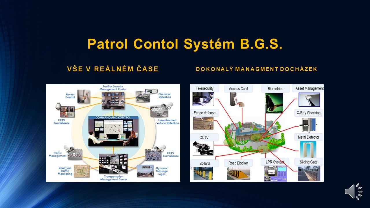 Schéma centrální pult ochrany PCO B.G.S.,s.r.o.