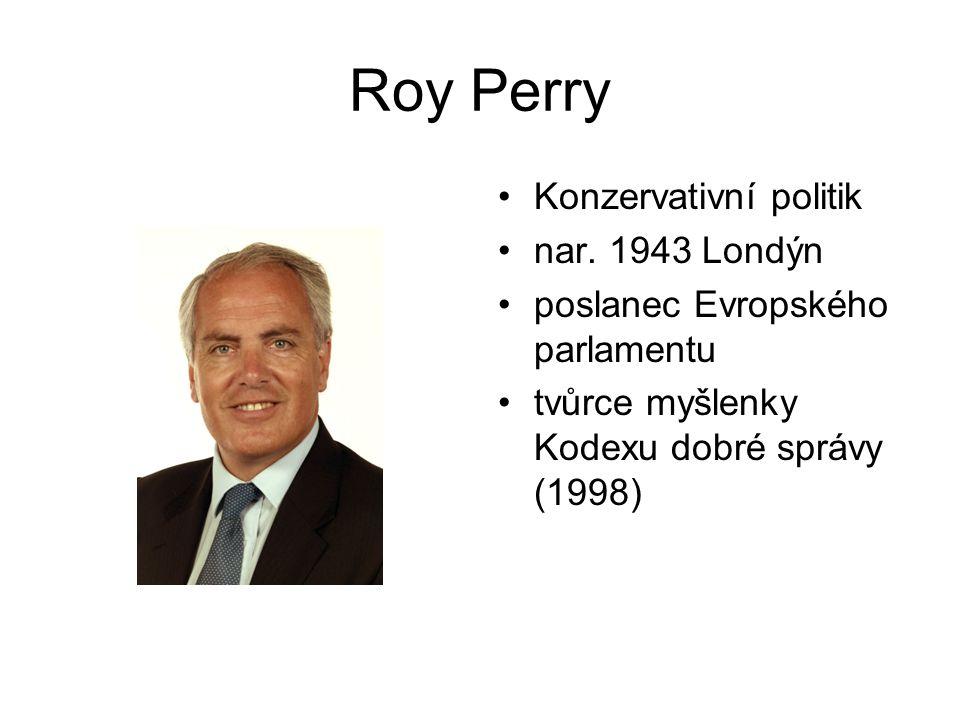 Roy Perry Konzervativní politik nar.