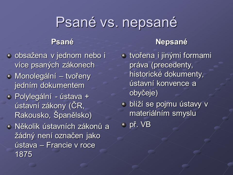 Psané vs.