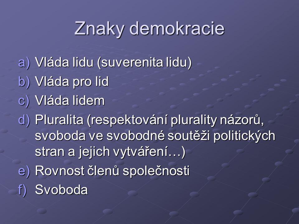 Volby vs.