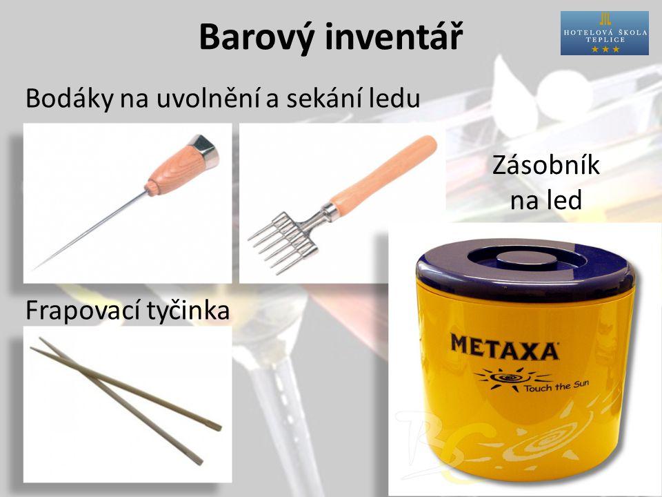 Barový inventář Barová lžíce Mudler Vývrtka Škrabka na kůru Barový nůž