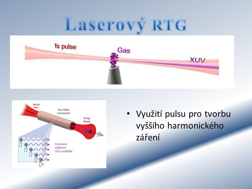 Využití pulsu pro tvorbu vyššího harmonického záření