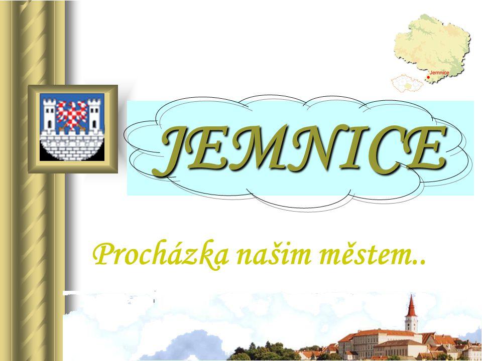 JEMNICE JEMNICE Procházka našim městem..