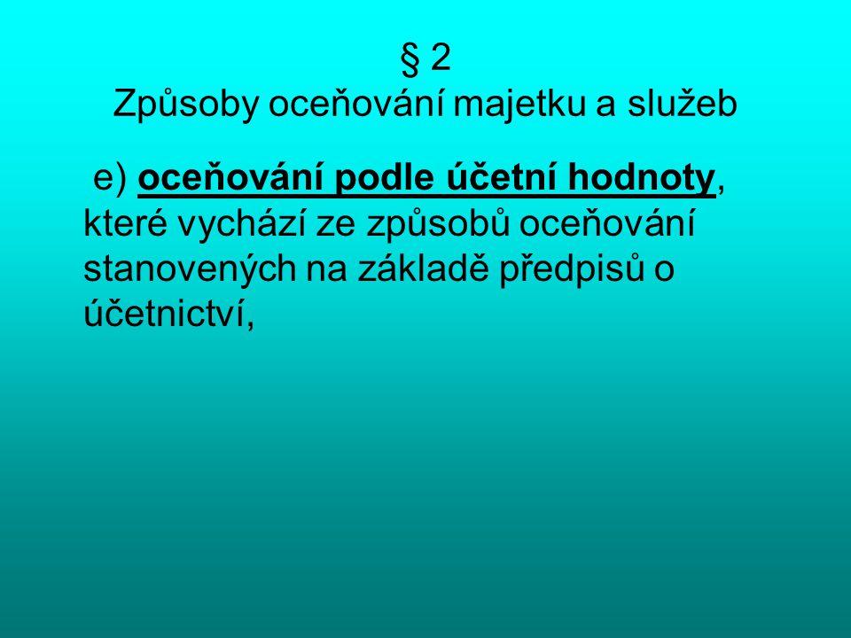 § 24 Oceňování podniku (3) Ocenění podniku výnosovým způsobem se zjistí jako součet diskontovaných budoucích čistých ročních výnosů podniku.