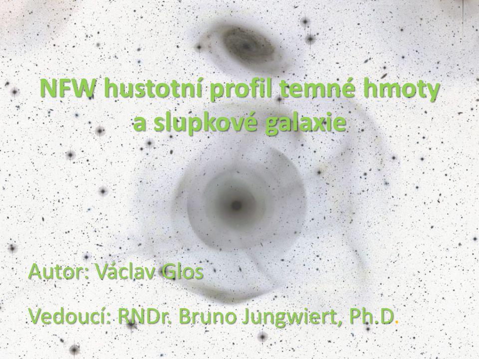 Autor: Václav Glos Vedoucí: RNDr.Bruno Jungwiert, Ph.D Autor: Václav Glos Vedoucí: RNDr.