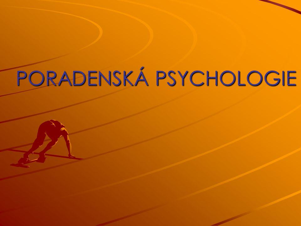 DNEŠNÍ TÉMATA: Poradenská psychologie(dále PPS) jako odborná profesní činnost Vztah PPS k jiným psychologickým disciplínám Poradenský proces a jeho průběh